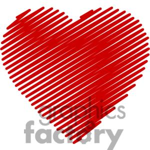 Hearts clipart scribbled Image SVG Art PNG scribbled
