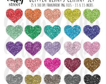 Hearts clipart silver glitter Heart Wedding Heart Arrows Hearts