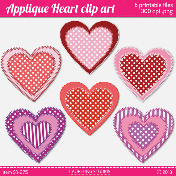Hearts clipart six Heart for clipart clipart clipart