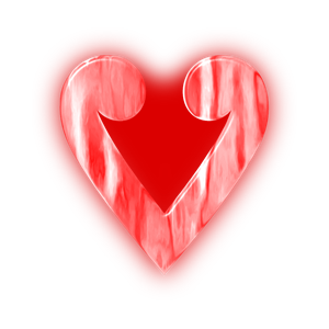 Hearts clipart stylised Clipart download of Stylised heart