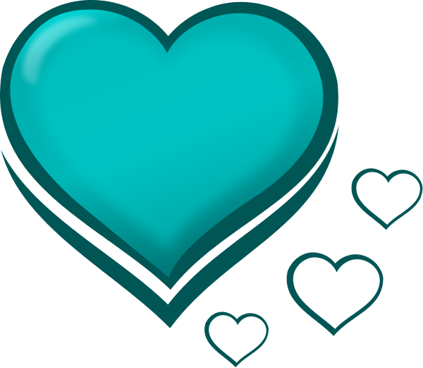 Hearts clipart stylised 0 with with Hearts Stylised