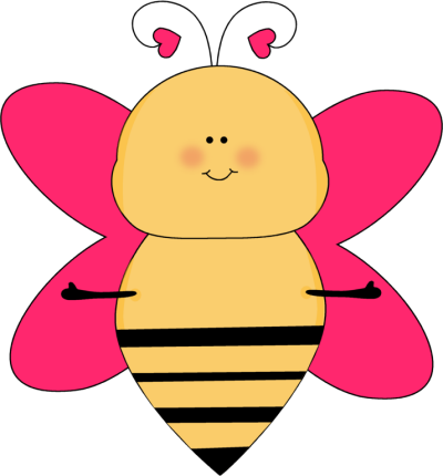 Hearts clipart together Images Clip with Bee Bee