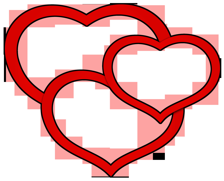 Hearts clipart triple Transparent Hearts Transparent Clipart Ramen