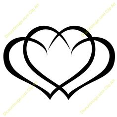 Hearts clipart triple T mouse Clipart hearts this