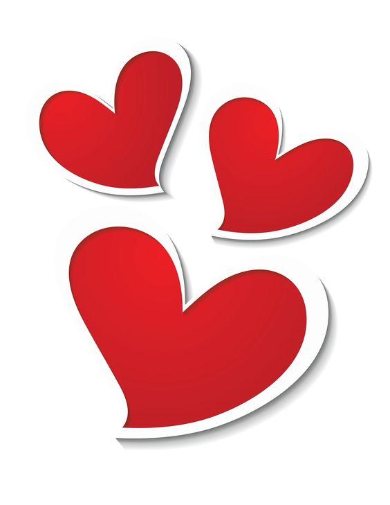 Hearts clipart triple Heart Download Three Picture Clip