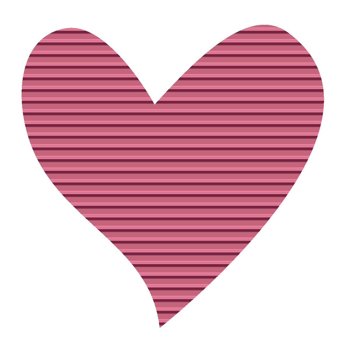 Heart-shaped clipart #12
