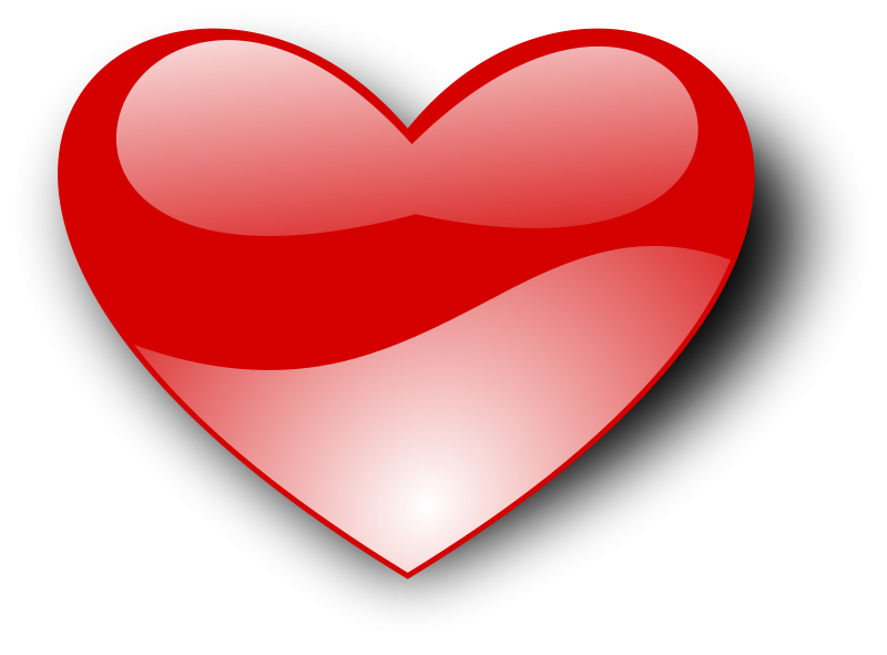 Heart-shaped clipart animated And Graphics Love Heart shiny!