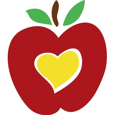 Heart-shaped clipart apple Apple Shaped Clipart Clipart Heart