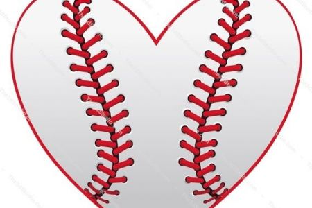 Heart-shaped clipart baseball Free Heart Stock UK Photo