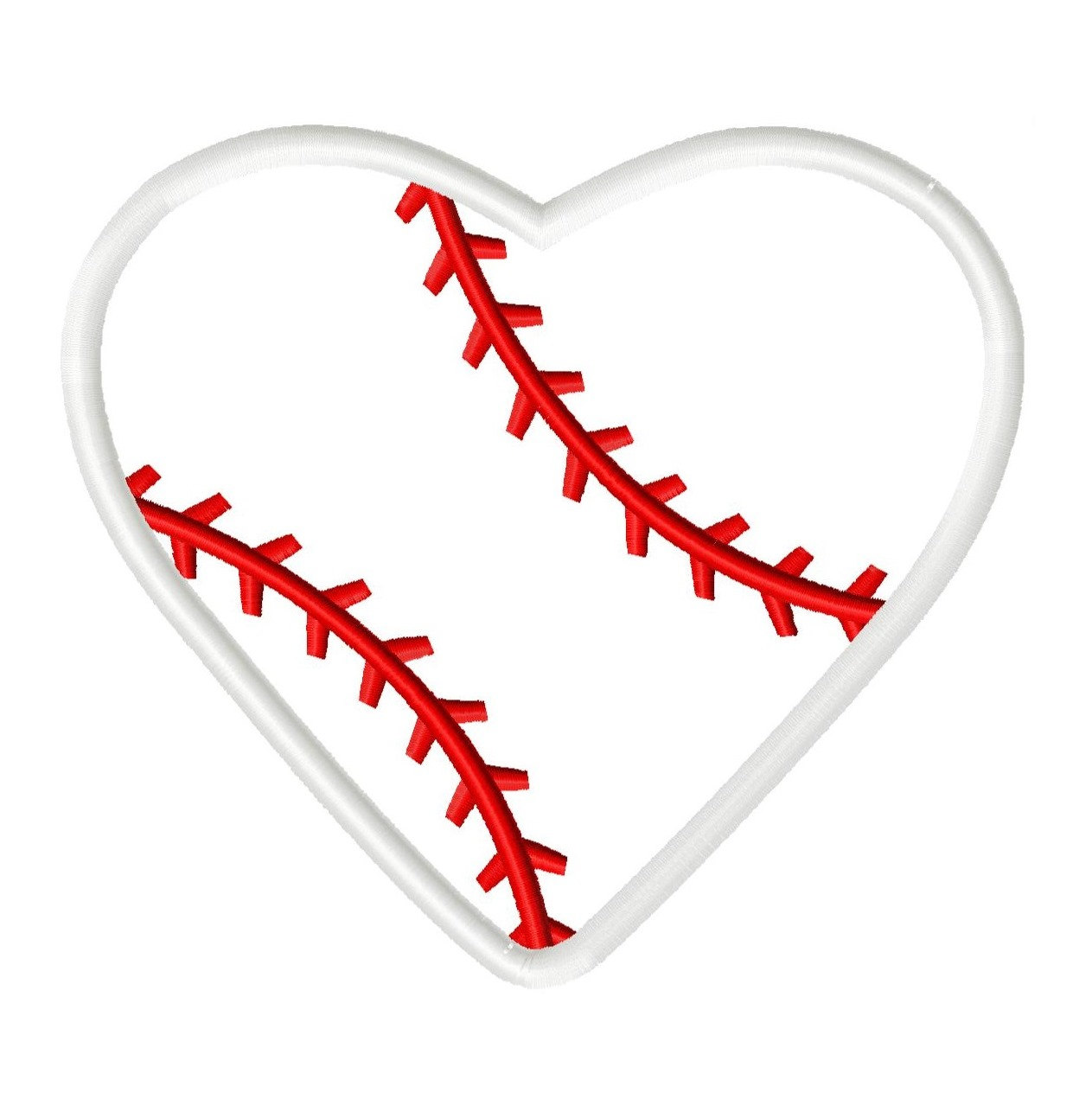 Heart-shaped clipart baseball Baseball Clipart Baseball heart art