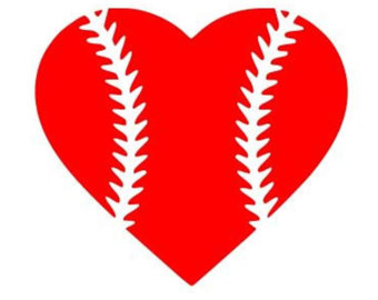 Heart-shaped clipart baseball Baseball Clipart Heart Heart heart