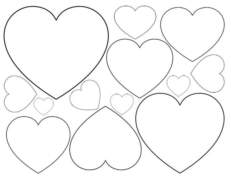 Heart-shaped clipart basic shape #8