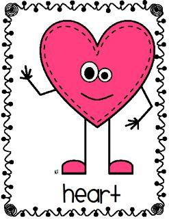 Heart-shaped clipart basic shape #4