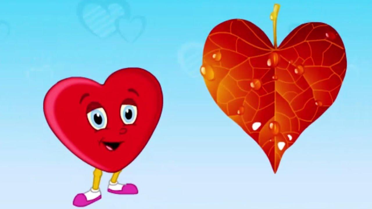 Heart-shaped clipart basic shape #5
