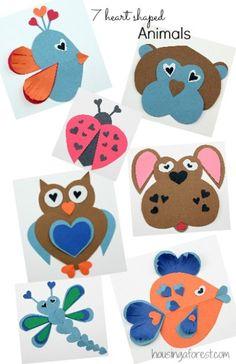 Heart-shaped clipart basic shape #12