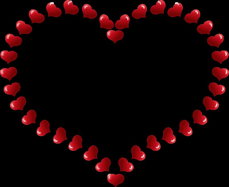 Heart-shaped clipart basic shape #10