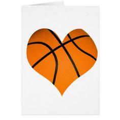 Heart-shaped clipart basketball Heart Clipart cards Basketball