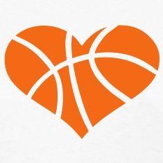Heart-shaped clipart basketball Heart Strange of Basketball #yyc