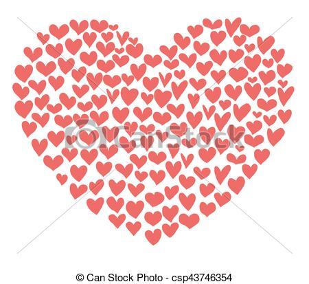 Heart-shaped clipart big Hearts big hearts Big big