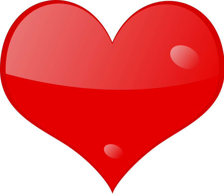 Heart-shaped clipart big Shine clipart Download on Free