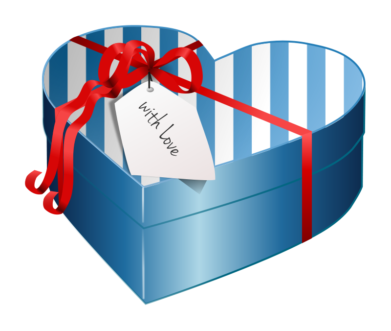 Heart-shaped clipart blue For Graphics Heart Animations Heart