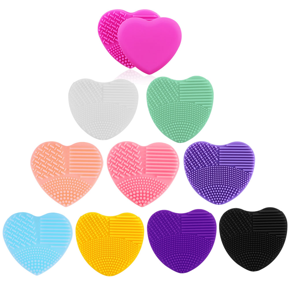 Heart-shaped clipart brushed #6