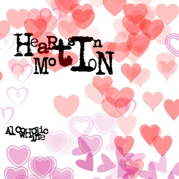 Heart-shaped clipart brushed Heart download brushes (2 photoshop