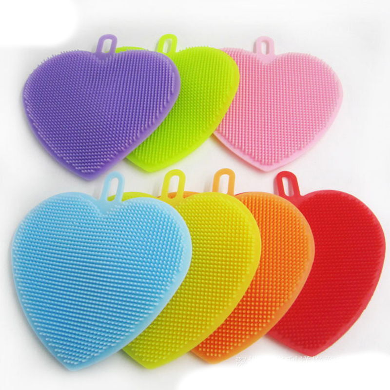 Heart-shaped clipart brushed #7