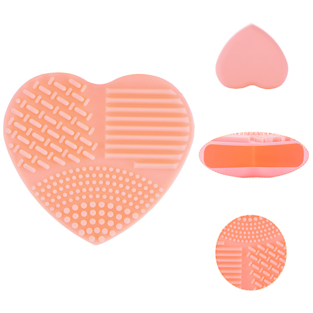 Heart-shaped clipart brushed #2