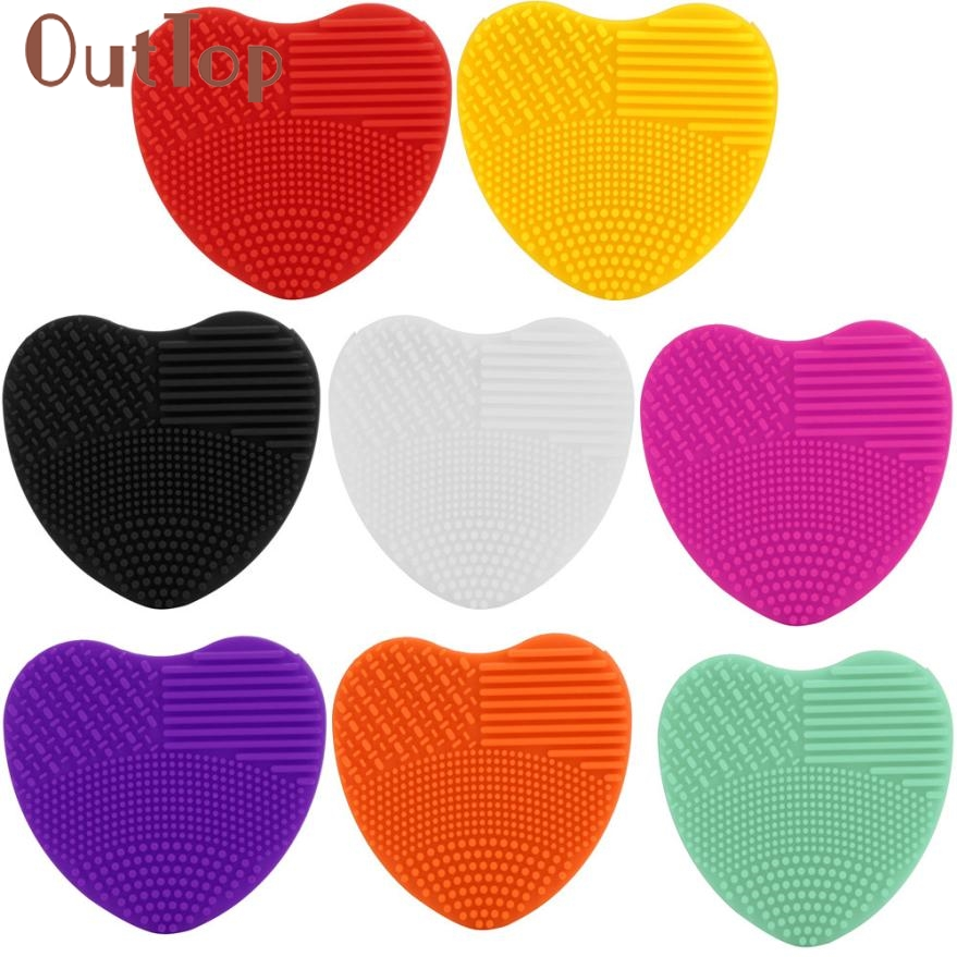 Heart-shaped clipart brushed #4