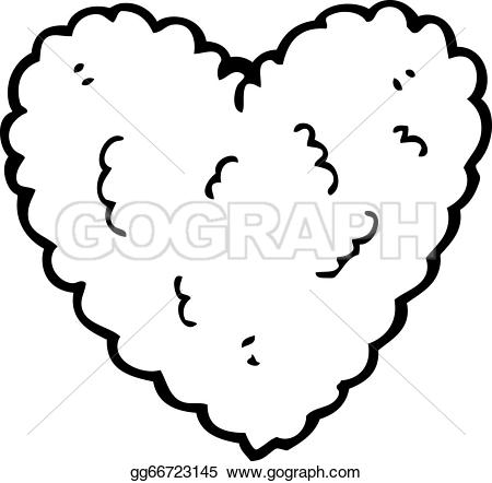 Heart-shaped clipart cartoon heart Shaped shaped  Heart Stock