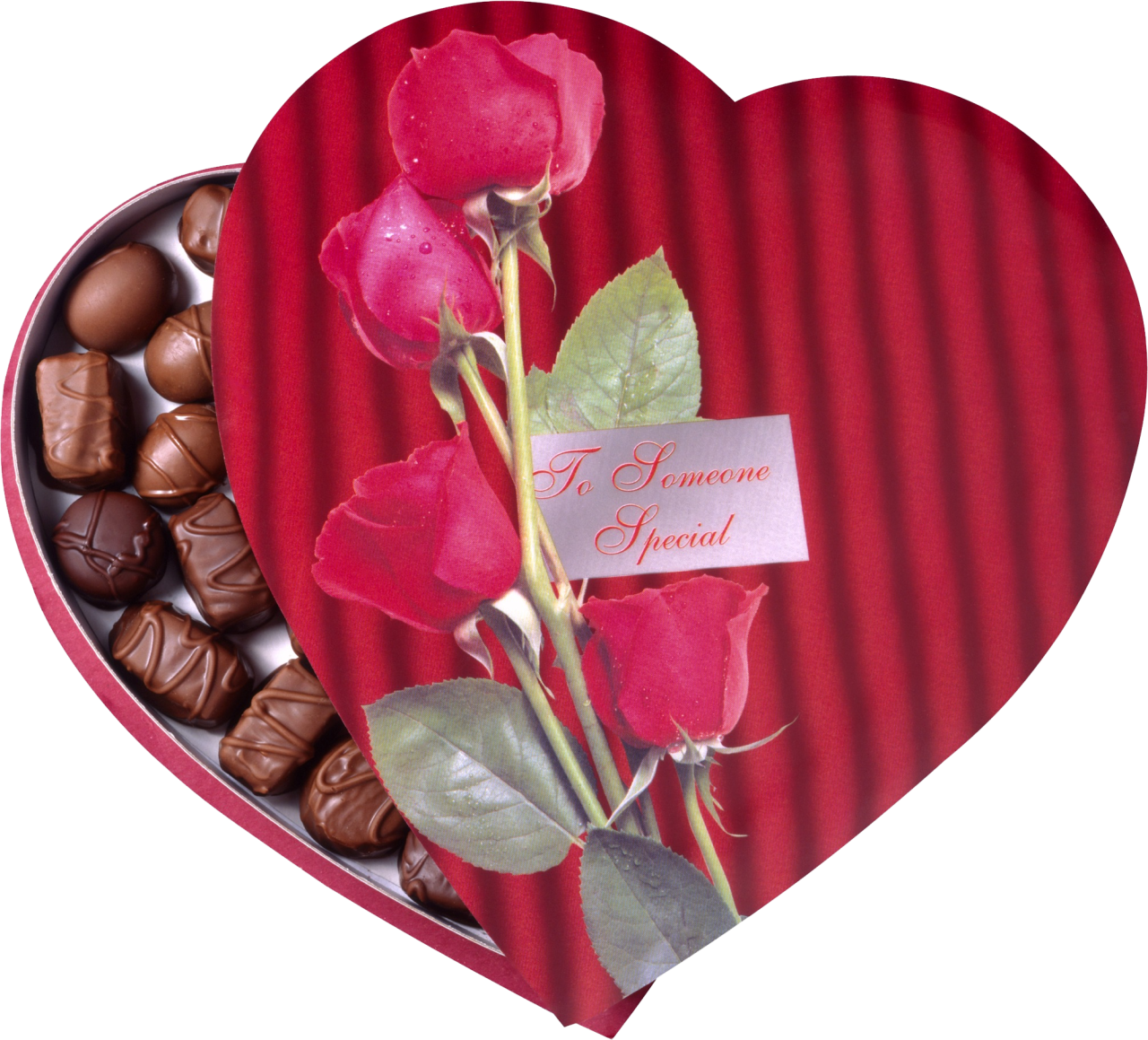 Heart-shaped clipart chocolate box #9
