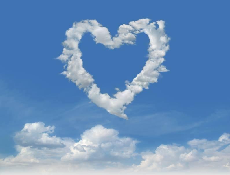 Heart-shaped clipart cloud Shaped Shaped Imgur on Album