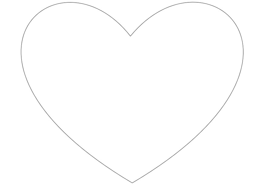 Heart-shaped clipart coloring Heart Download coloring coloring Heart