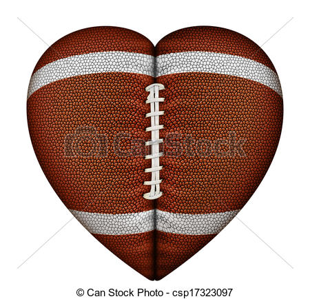 Heart-shaped clipart cool heart Clipart Shaped Clipart Download Football