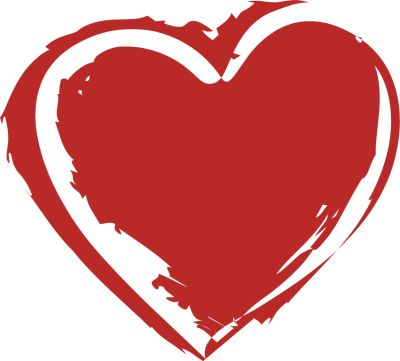Heart-shaped clipart cool heart Dirty  Tattoo shapes Pinterest
