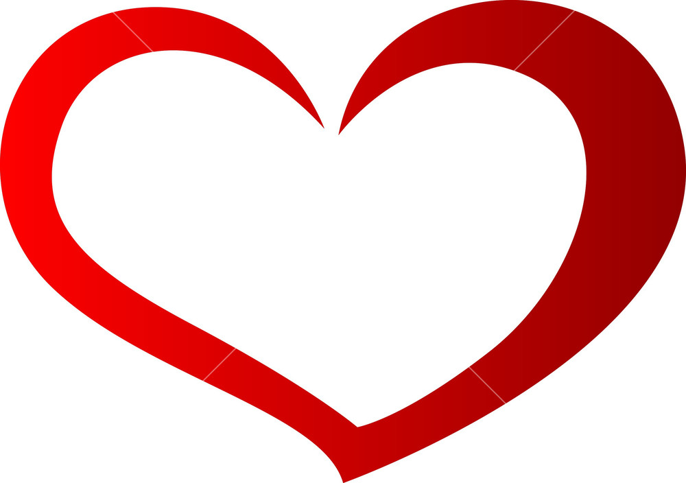 Heart-shaped clipart cool heart Design Free Vectors Graphics Images