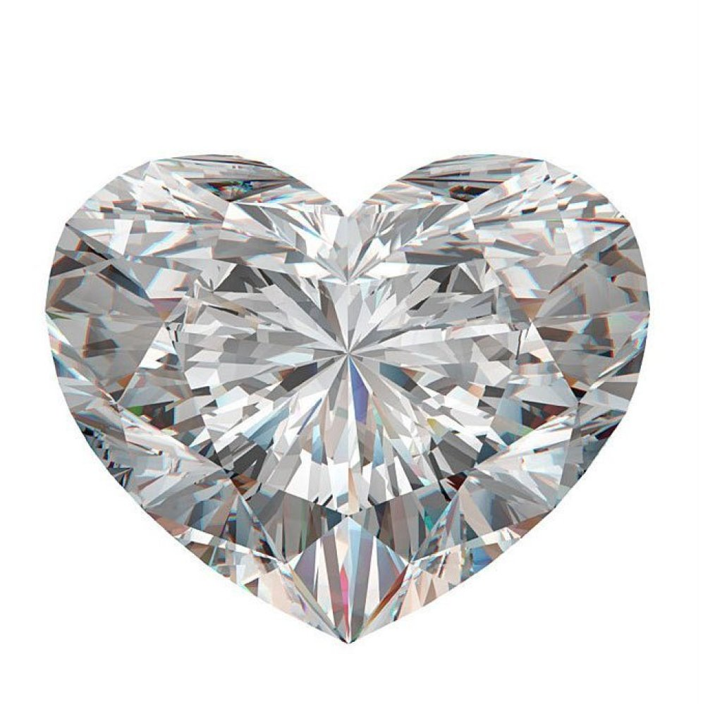 Heart-shaped clipart diamond shape Diamond Say About Your Ring