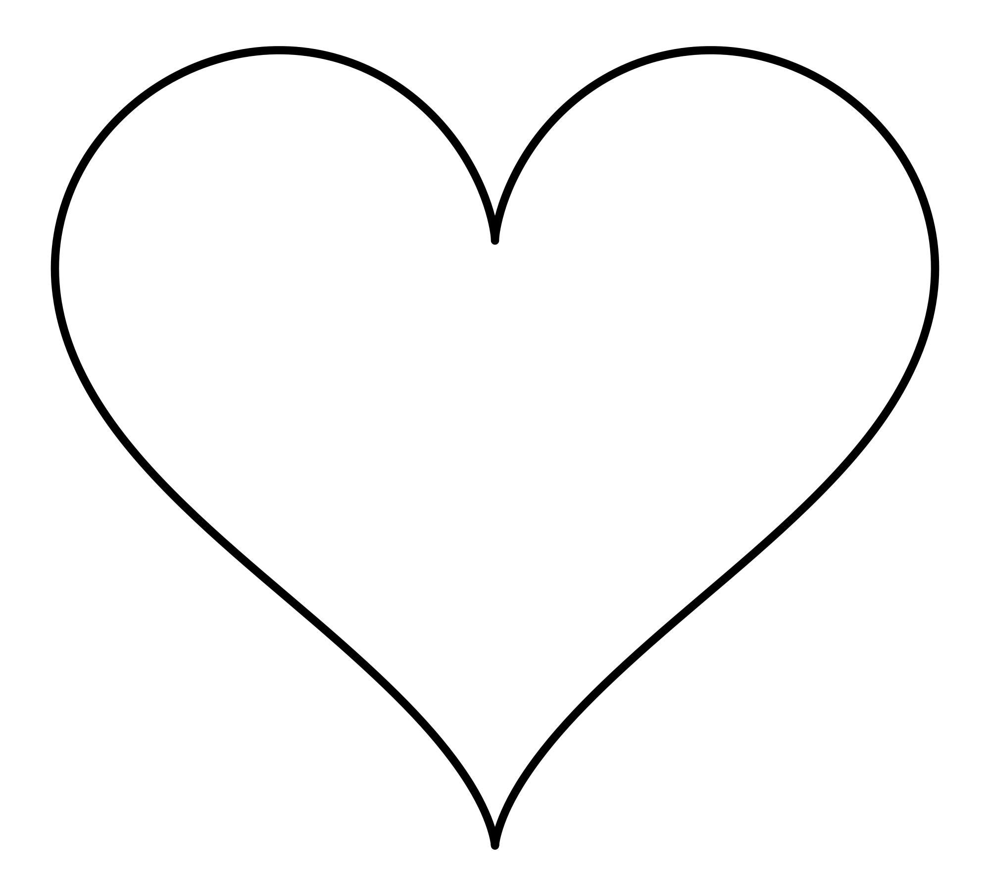 Heart-shaped clipart diamond shape Heart Wikipedia Shape the