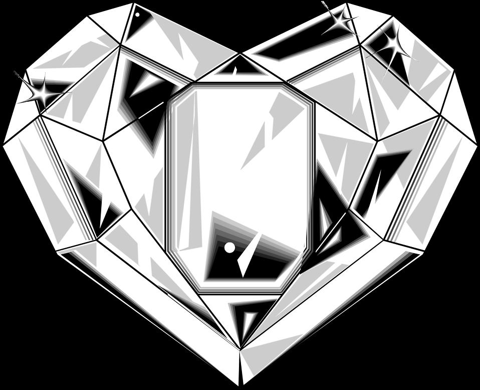 Crystal clipart diamond shape Stock Diamond Free a