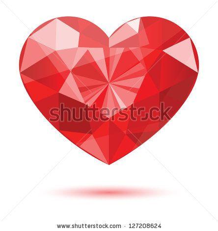 Heart-shaped clipart diamond shape Heart 8 on best Heart