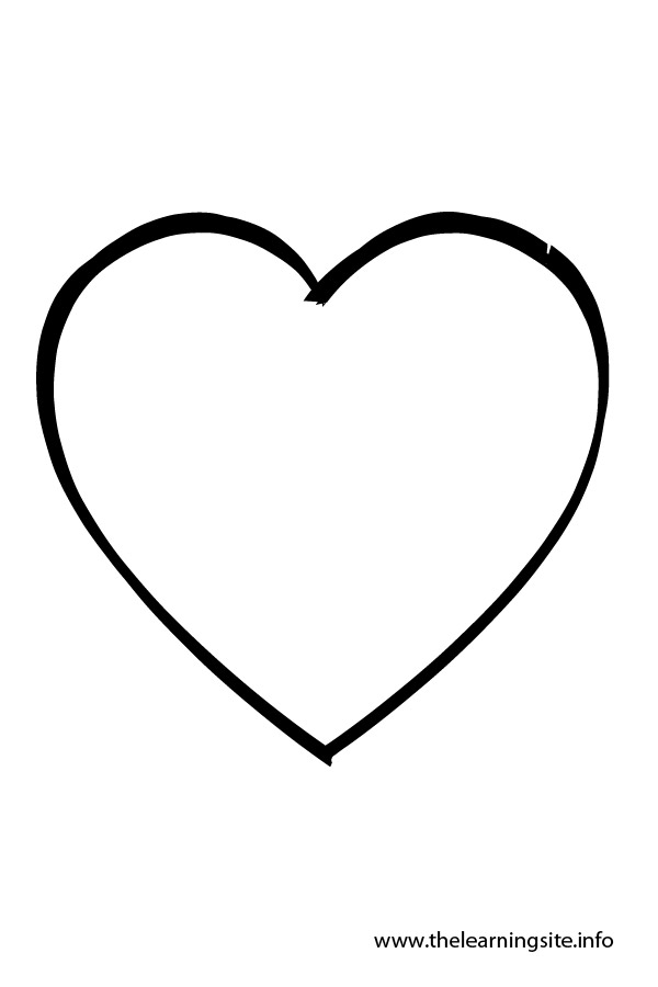 Heart-shaped clipart different shape #4
