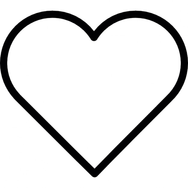 Heart-shaped clipart different shape #1