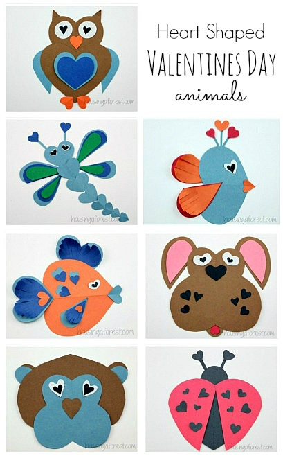 Heart-shaped clipart different shape Animals ~ Craft Ideas Shaped