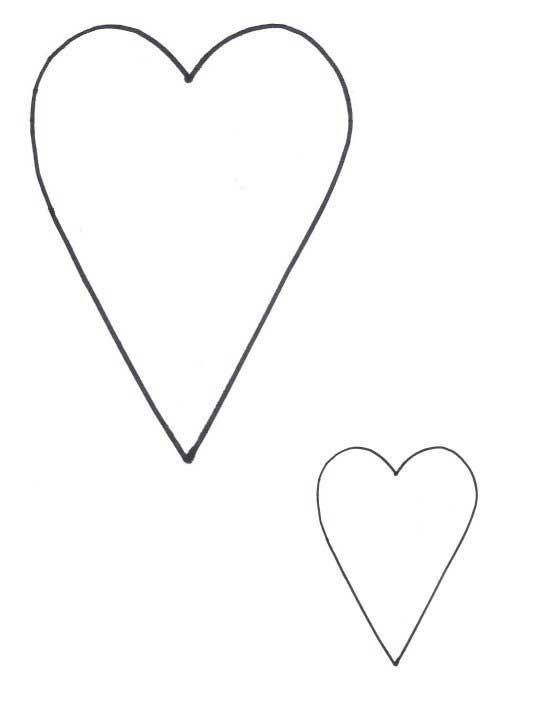 Heart-shaped clipart different shape #6