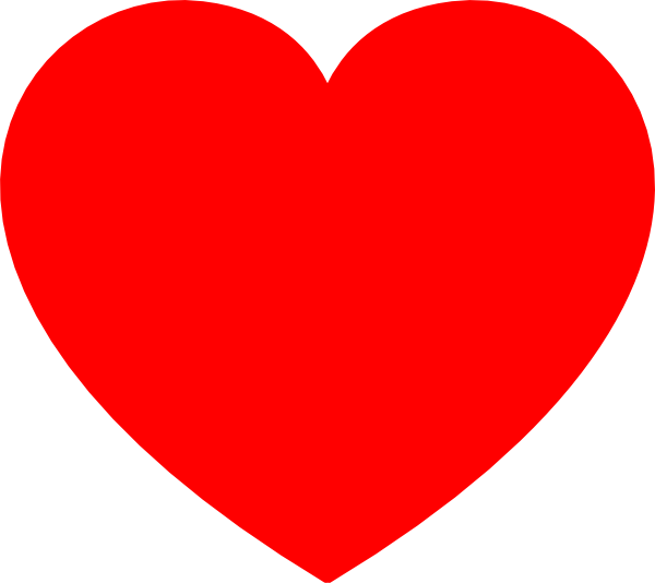 Heart-shaped clipart drawn Images Clipart drawn%20red%20heart%20clipart Heart Red