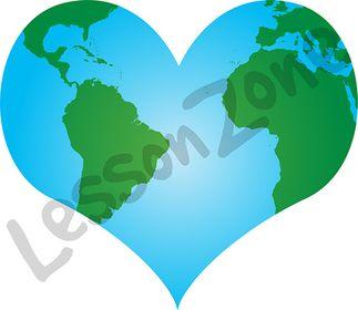 Heart-shaped clipart earth Heart Art – Clipart Clip