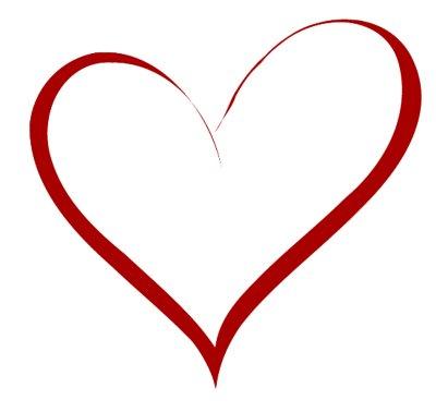 Heart-shaped clipart fancy #6