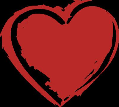 Heart-shaped clipart fancy #9