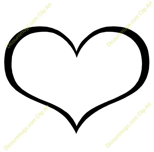 Heart-shaped clipart fancy #5